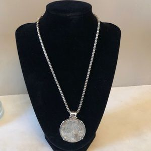Sterling Silver Shipwreck Coin Necklace